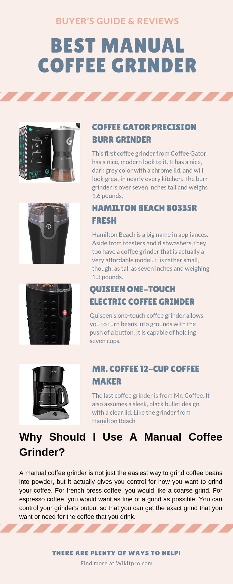 Best Manual Coffee Grinder 2019