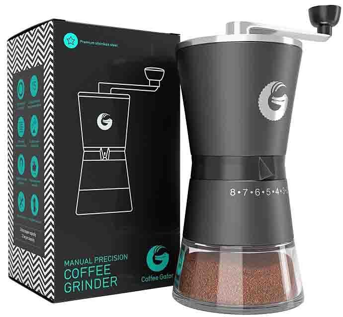 Best Manual Coffee Grinder for Gator